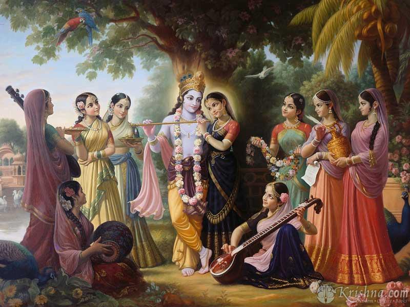 krishna-gopis
